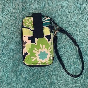 Thirty One patterned wristlet
